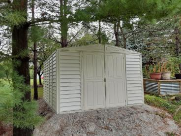 Storage Shed Project - After Photo