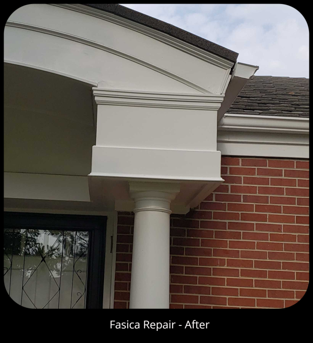 Fascia Repair - After, Englewood, CO