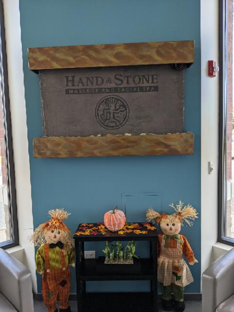 Fall at Hand & Stone of Elmhurst