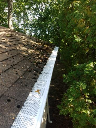 Gutter Cleaning and Gutter Guard Install