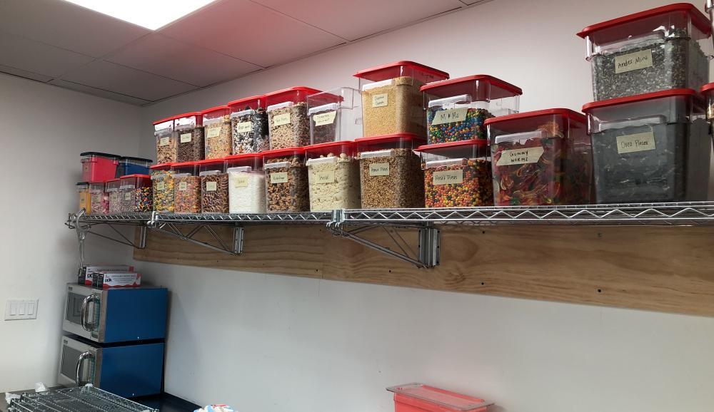Commercial Baker Racks Installed