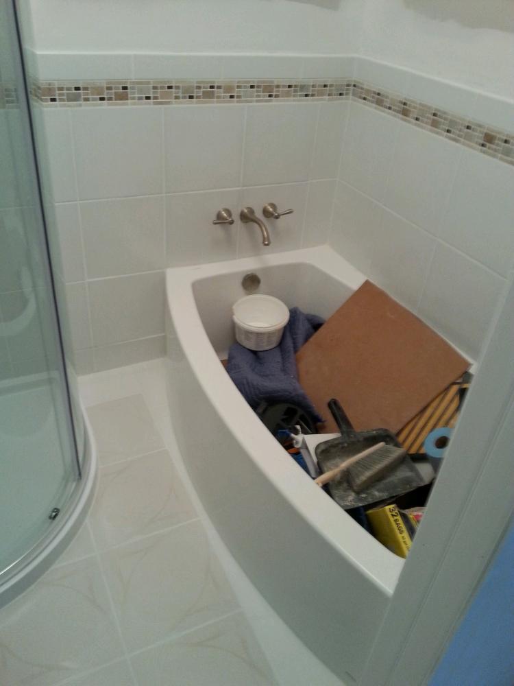 Bathroom Tile -Frederick, Maryland