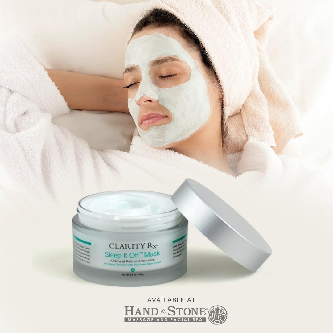 Product of the Month - Clarity Sleep It Off Facial Mask