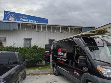 North Charleston commercial job - Before
