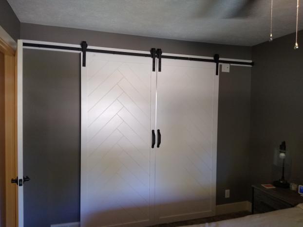 Installed Barn Door