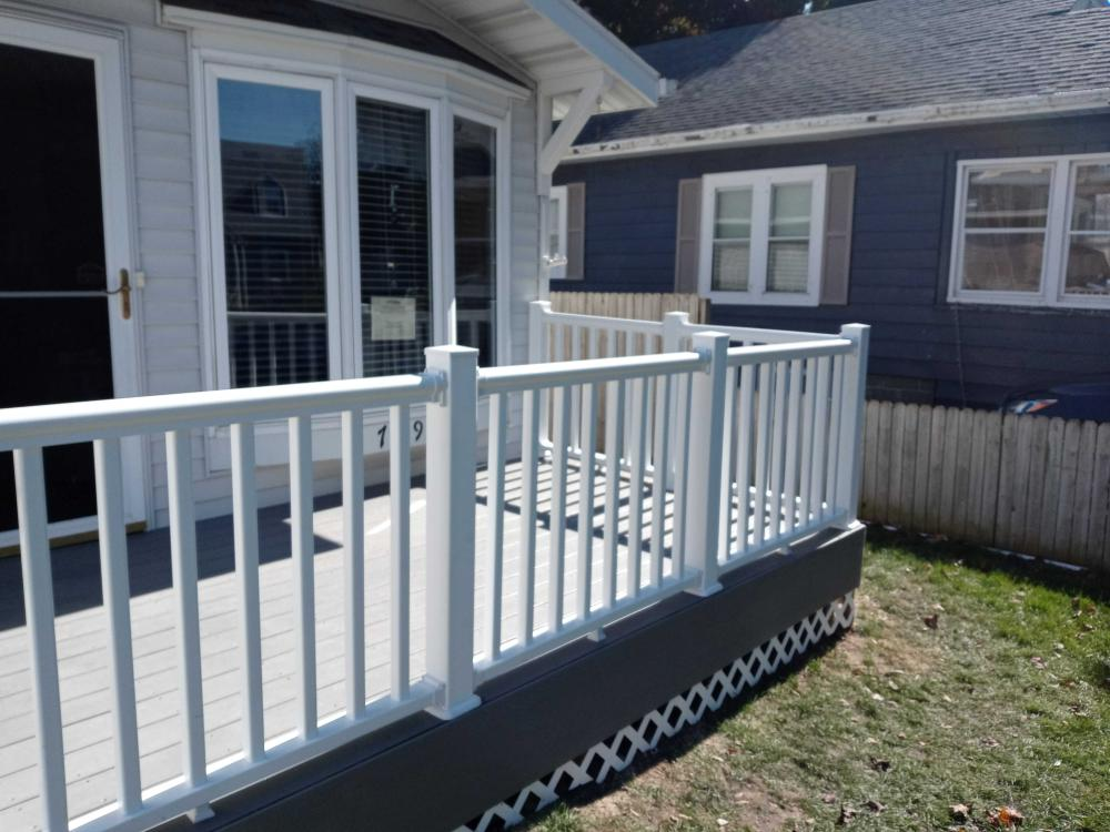 New Front Deck and Railings 2