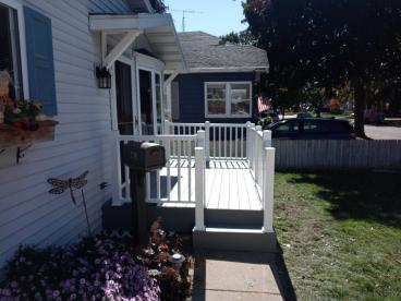 New Front Deck and Railings 3