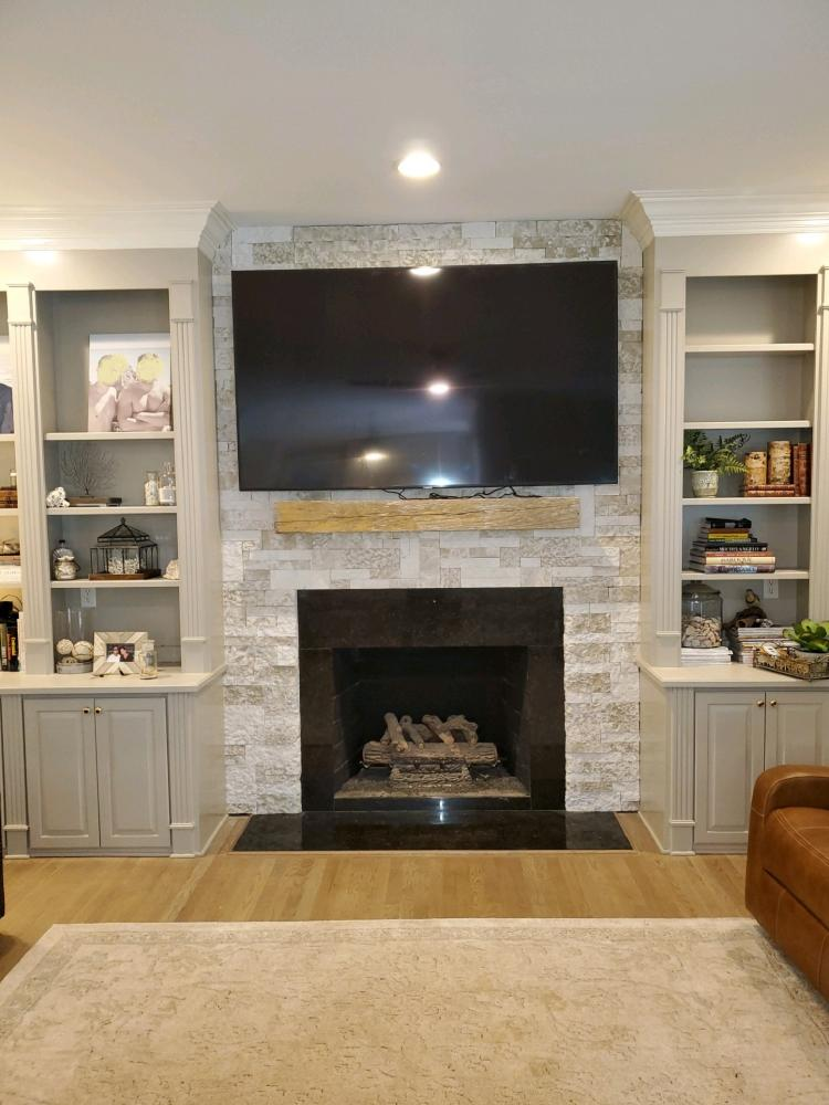 Transform your Living room with Stone! Mooresville, NC