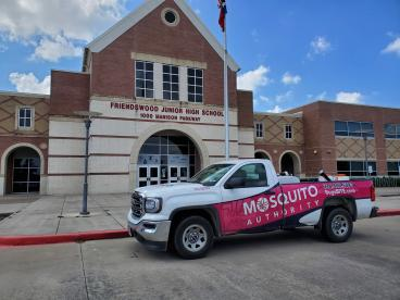 Mosquito-Free at Friendswood Junior High!
