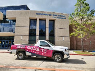 Mosquito-Free at Friendswood High School!