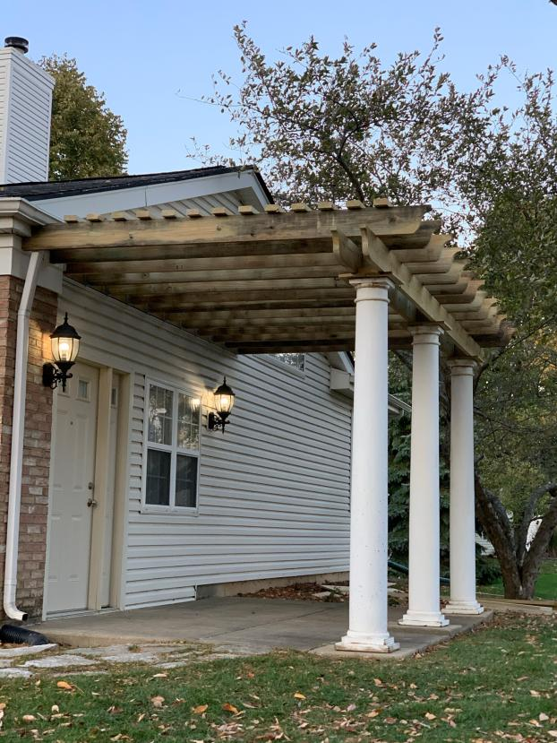 Pergola Project - After Pictures
