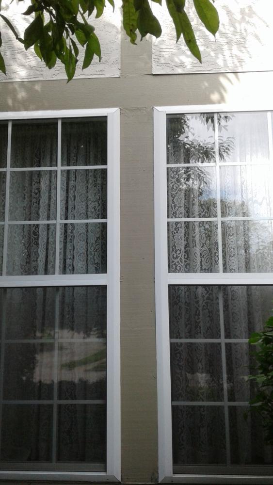 Replaced Exterior Trim Around Windows in Columbus