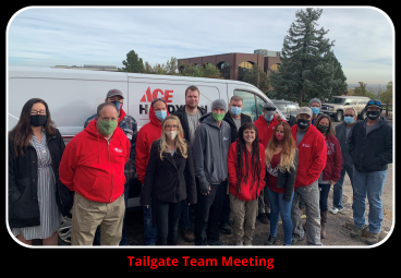 TEAM Meeting Tailgate Style!