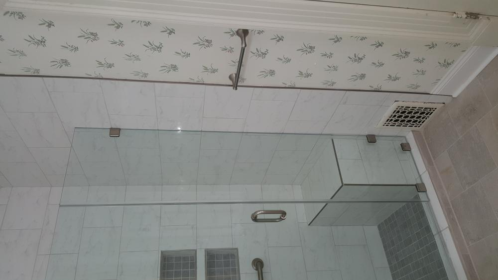 Walk-In Shower with Bench
