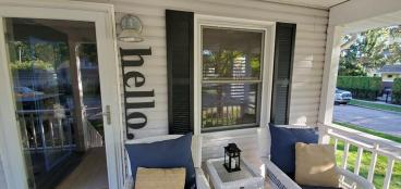 New Vinyl Shutters in Troy