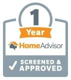 One Year on Home Advisor!