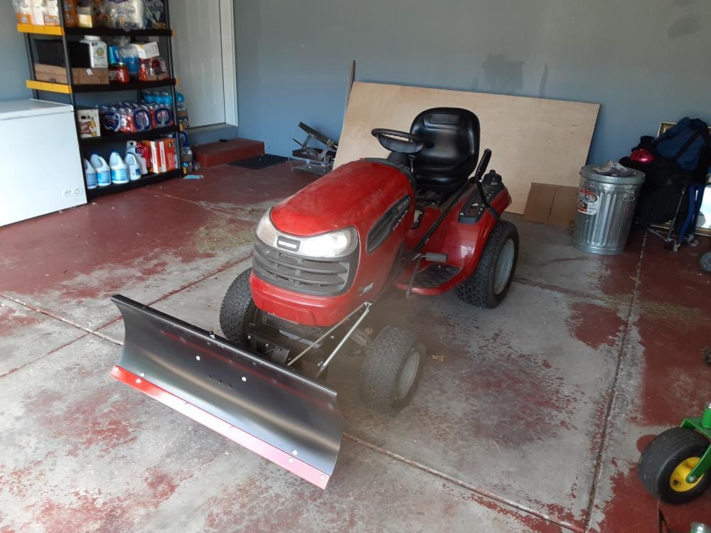 Snow Plow Install