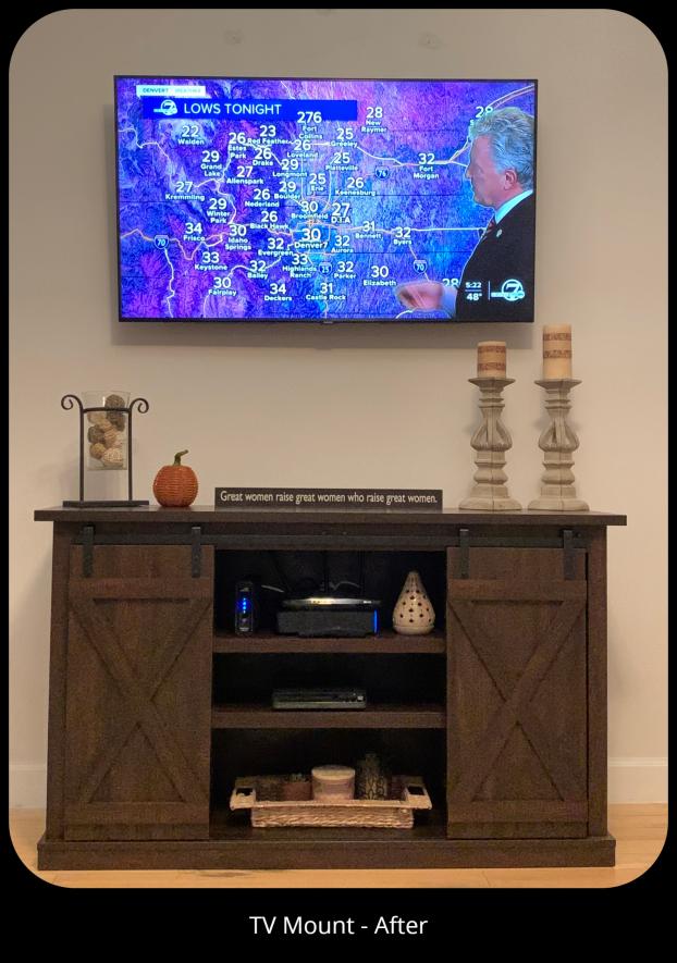 TV Mount - Denver