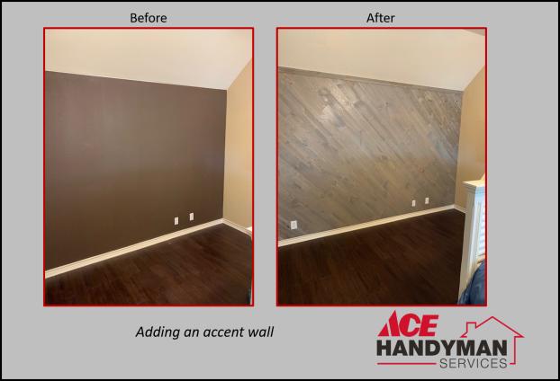 Carpentry Interior - Accent Wall