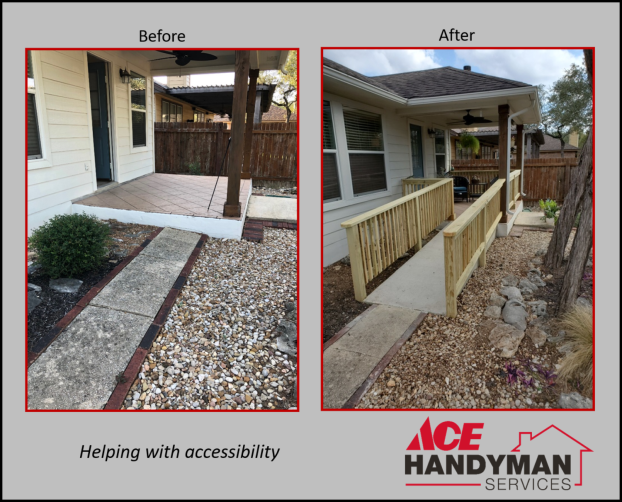 Exterior - Accessibility Aging in Place - Ramp & Rails