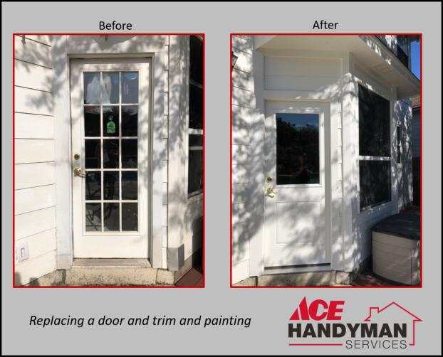 Doors - Exterior Door and Trim Replacement