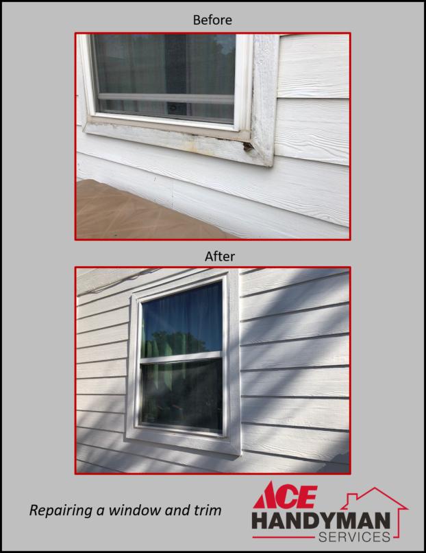 Exterior Carpentry - Window Repair