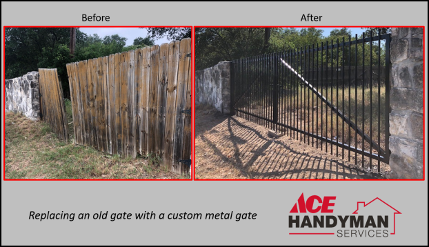 Exterior - Gate Replacement