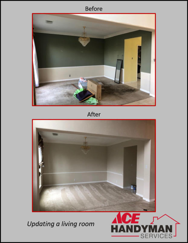 Drywall and Painting - Room Refresh