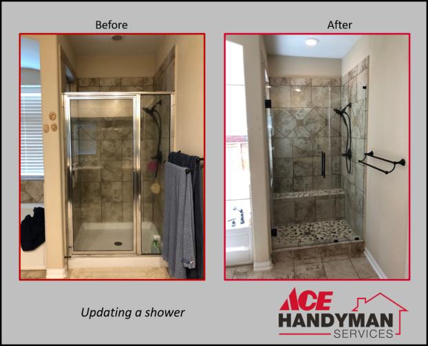 Bathroom - Shower Renovation