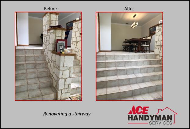 Interior - Stairway Renovation