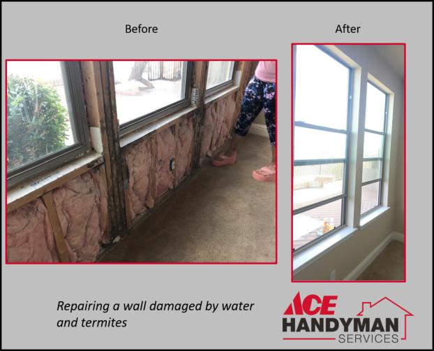 Drywall and Painting - Wall Repair