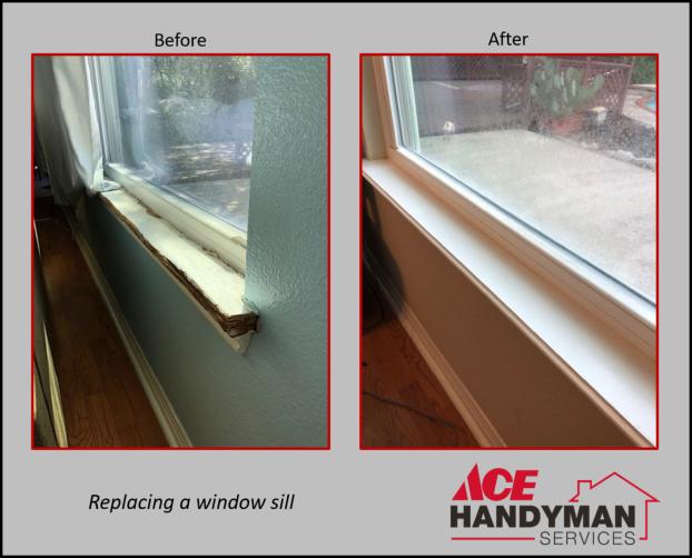 Carpentry - Window Sill Repair