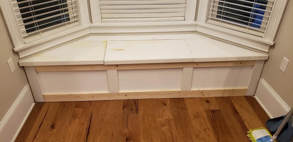 Progress Custom Bench Seat Build in Tallahassee