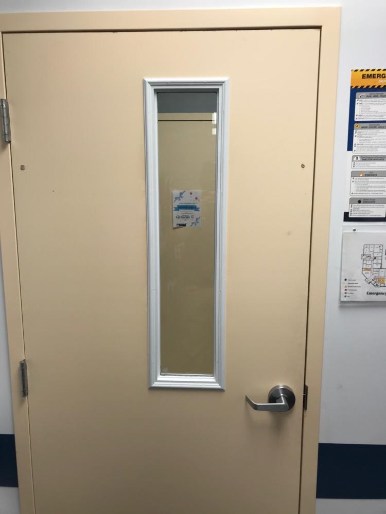 Commercial Window Door Install