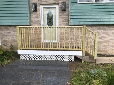 Deck Railing Replacement