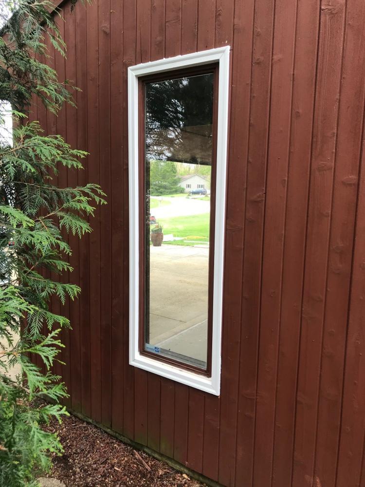 New Garage Door Windows East Side