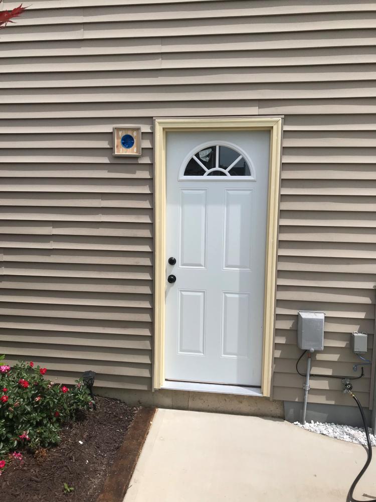 New Garage Service Door Install