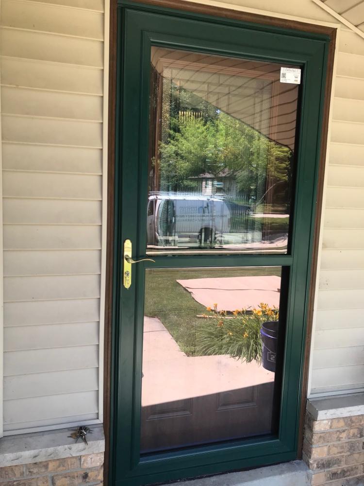 Storm Door Replace