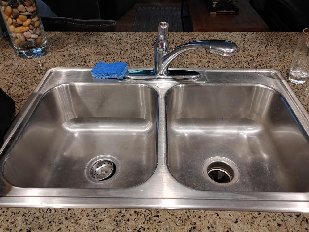 New faucet and sink install, Bothell