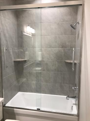 Shower Door installation in Mooresville