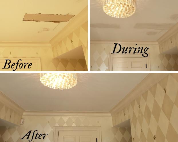 Ceiling Drywall Repair in Galena