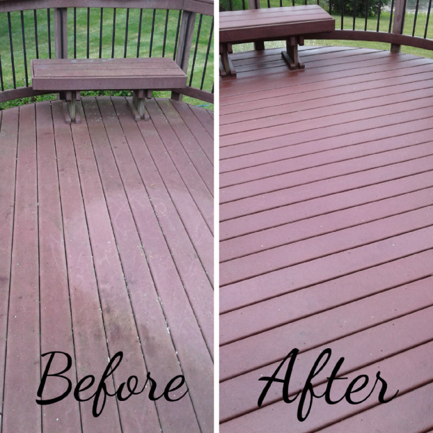 Multilevel Deck Repair, Clean, and Restaining