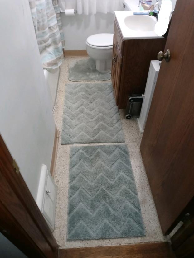 Bath Floor Before