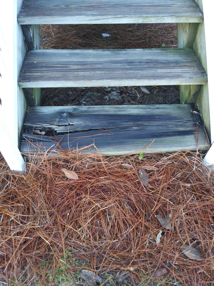 Stair Board Replacement in Tallahassee