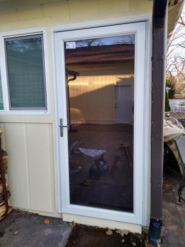 Replaced Storm Door