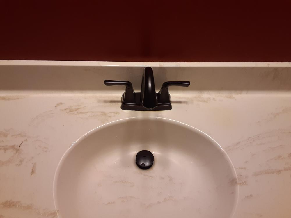 Bathroom faucet upgrade in Waukesha Wisconsin
