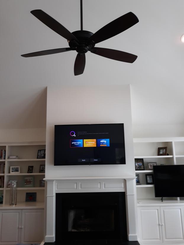 Yes, we mount tvs too!