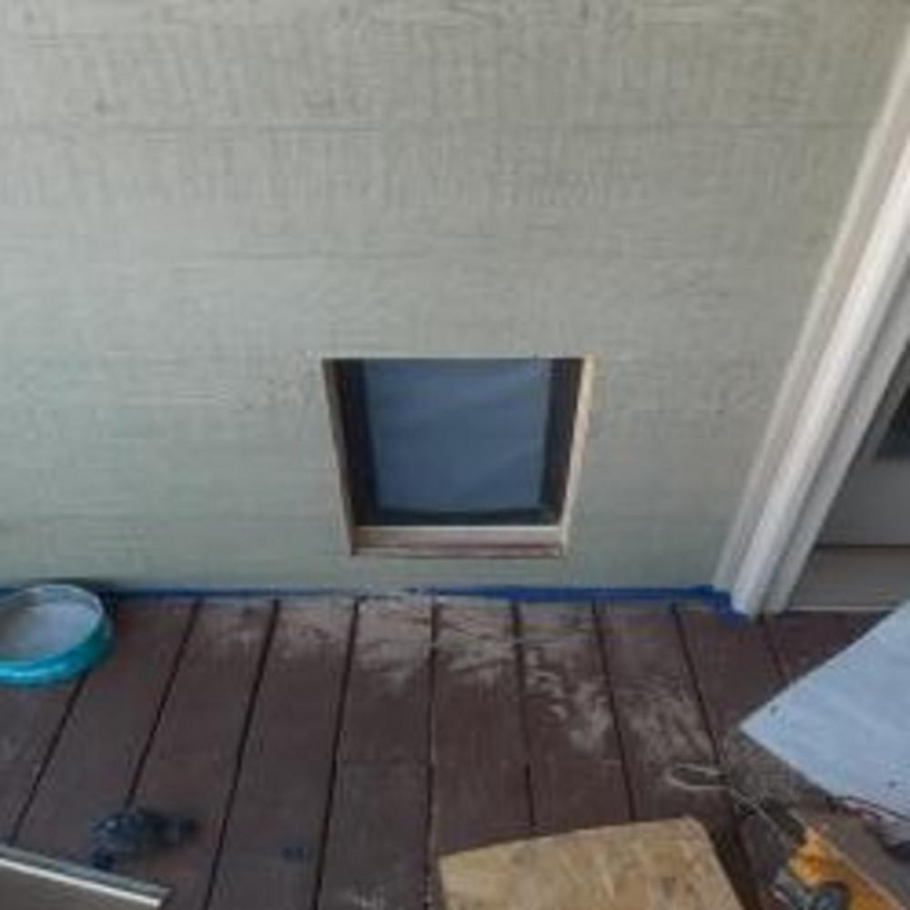New Dog Door Install