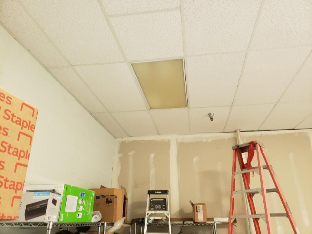 Ceiling Grid and Tile Installation in Tallahassee