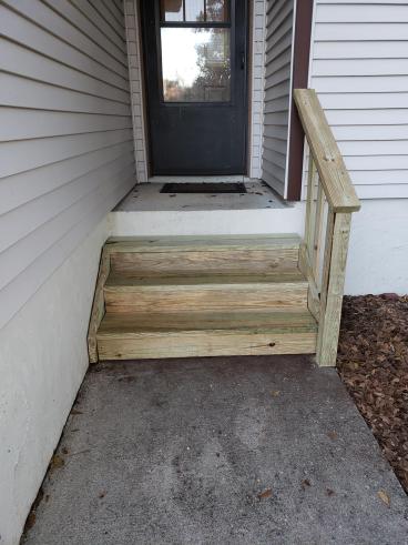 Steps Custom Build in Tallahassee